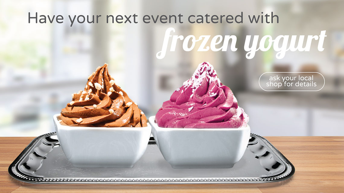 U Swirl Self Serve Yogurt Bar